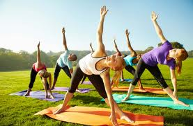 Yoga Image - Triangle Pose 2